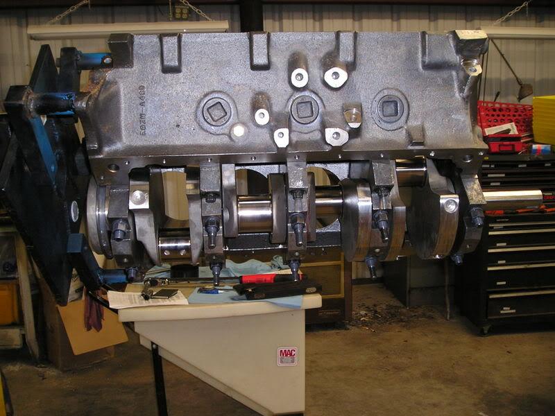 A460 Block: 534ci engine build thread 534ShortBlockCrank