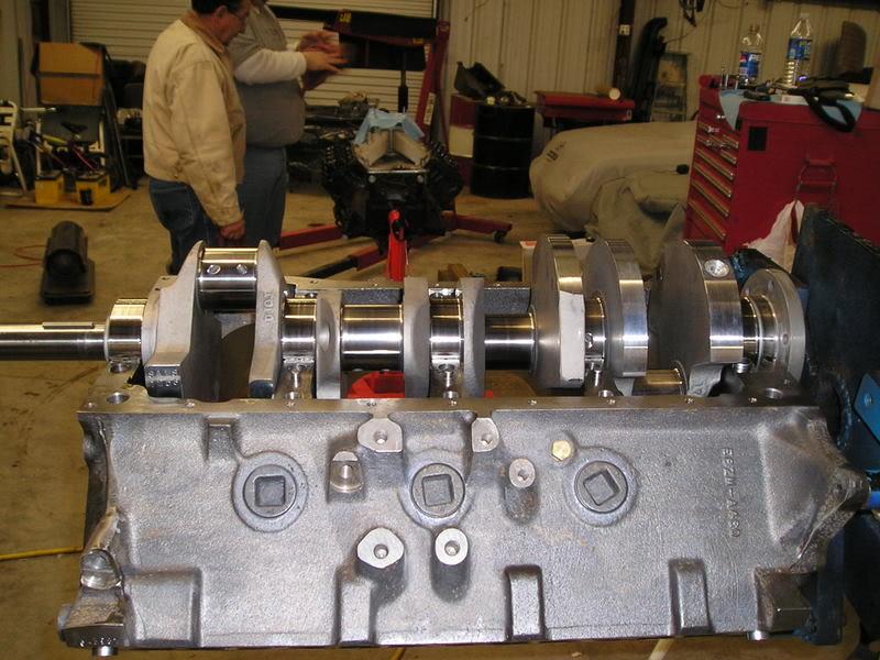 A460 Block: 534ci engine build thread Scat43404-2