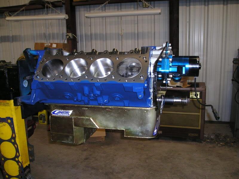 A460 Block: 534ci engine build thread ShortBlockFrontPlateA