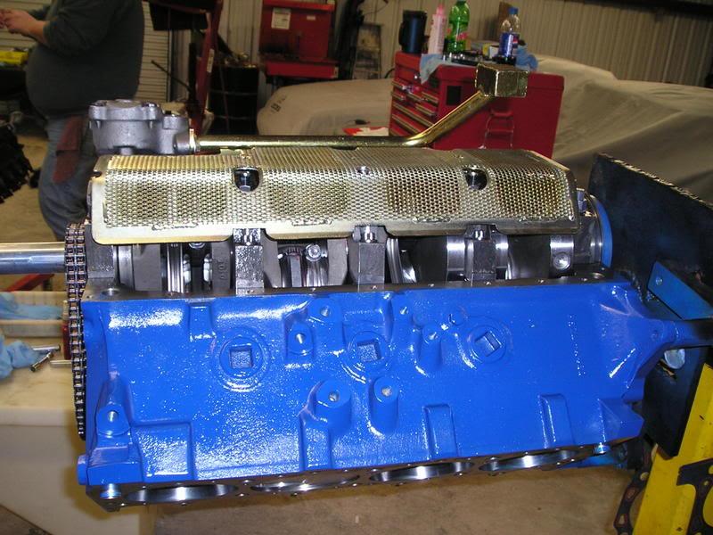 A460 Block: 534ci engine build thread WindageTray