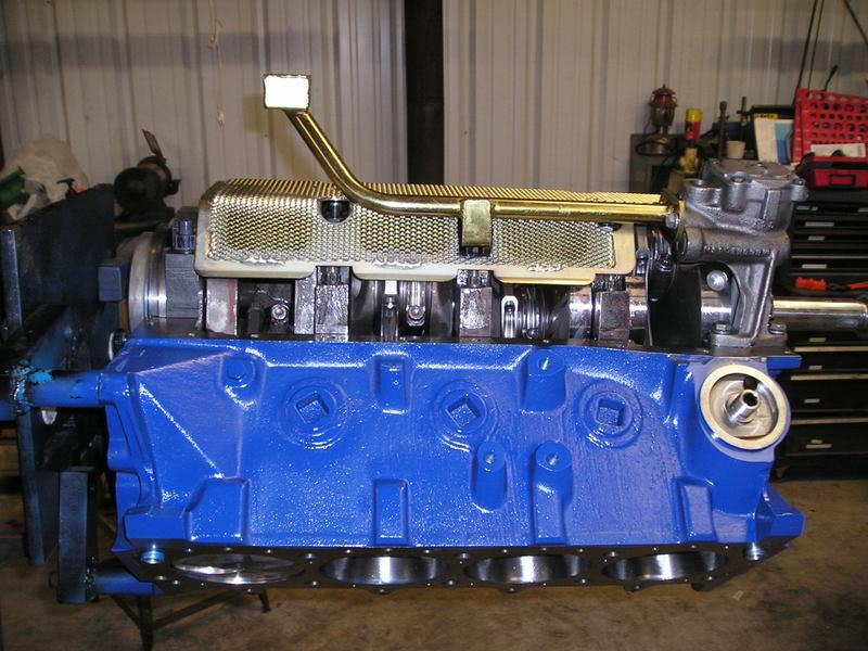 A460 Block: 534ci engine build thread WindageTrayOilPump
