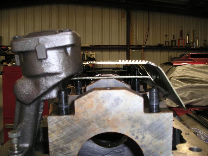 A460 Block: 534ci engine build thread WindageTrayandStudsMockUp