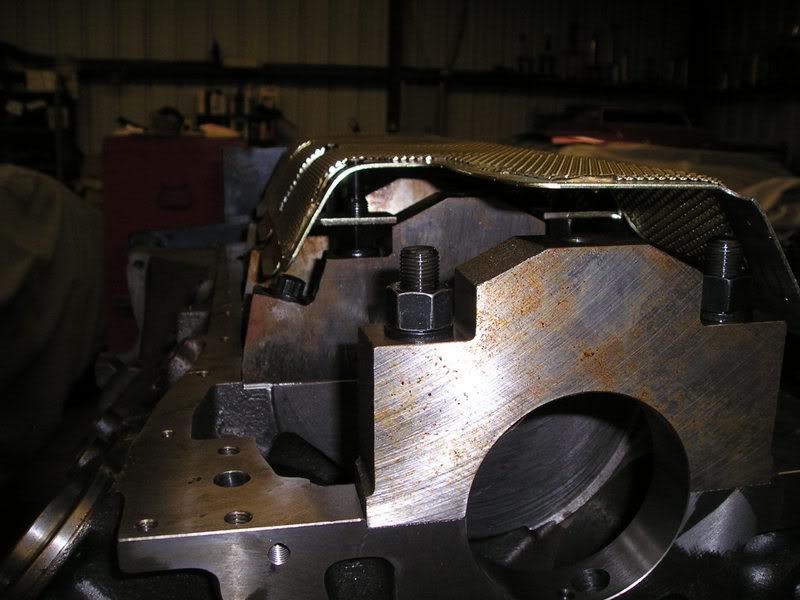 A460 Block: 534ci engine build thread WindageTrayandStudsTestFit2