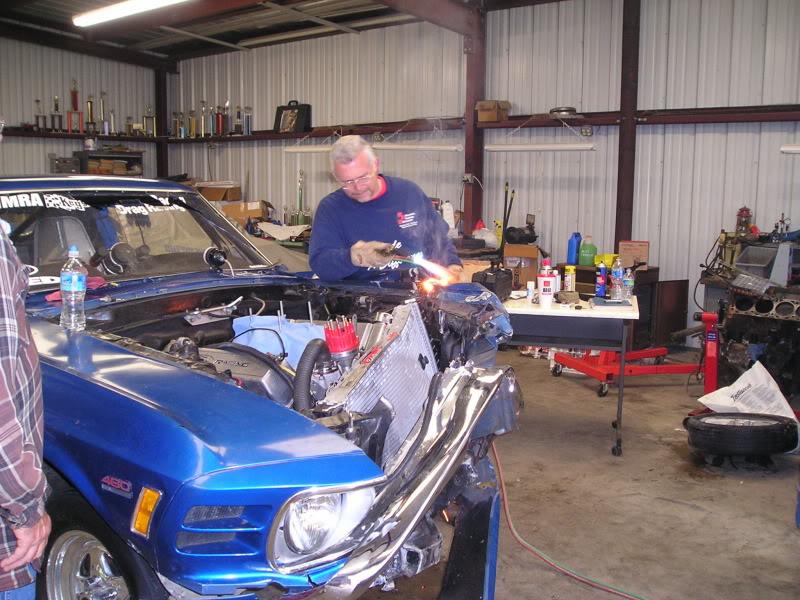 Chuck's 1970 Mustang: The Rebuild... P1010010