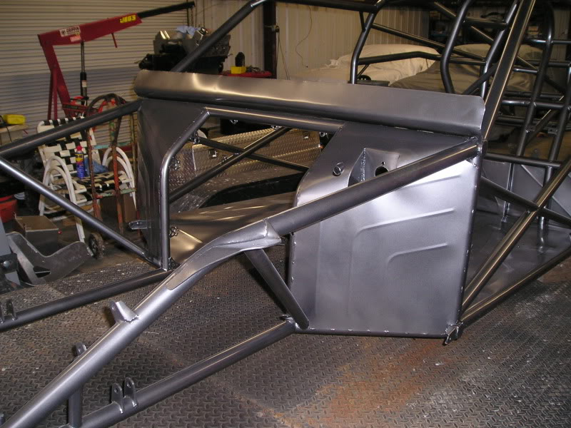 Chuck's 1970 Mustang: The Rebuild... - Page 6 PowderCoatChassis004