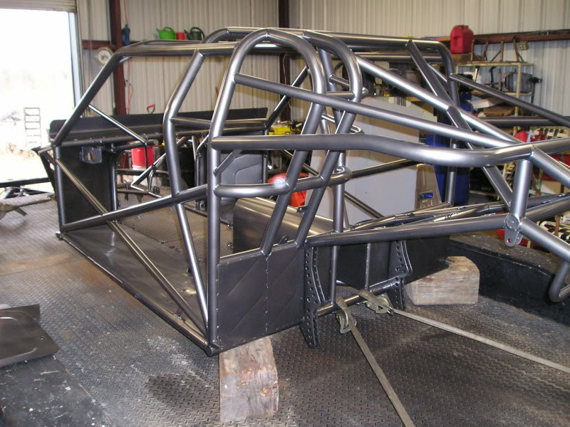 Chuck's 1970 Mustang: The Rebuild... - Page 6 PowderCoatChassis005