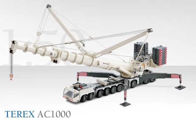 TEREX AC 1000 par Conrad 2108_0