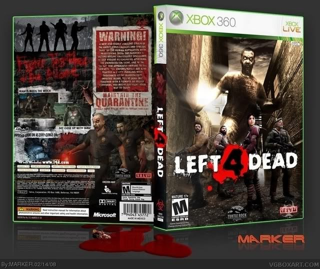left for dead boxart Pictures, Images and Photos