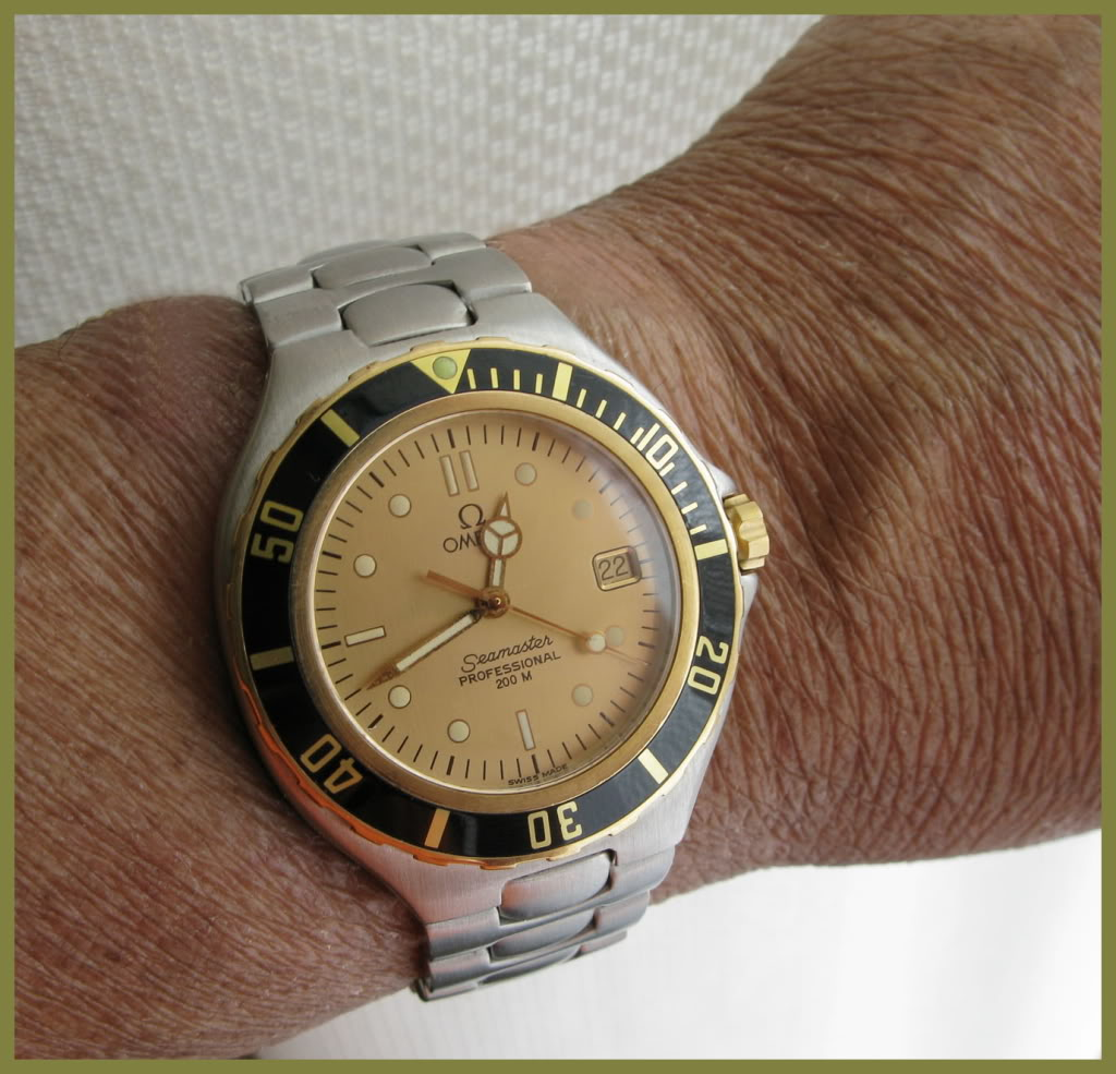 Duffster made me do it.....no Breitling but... Wrist2