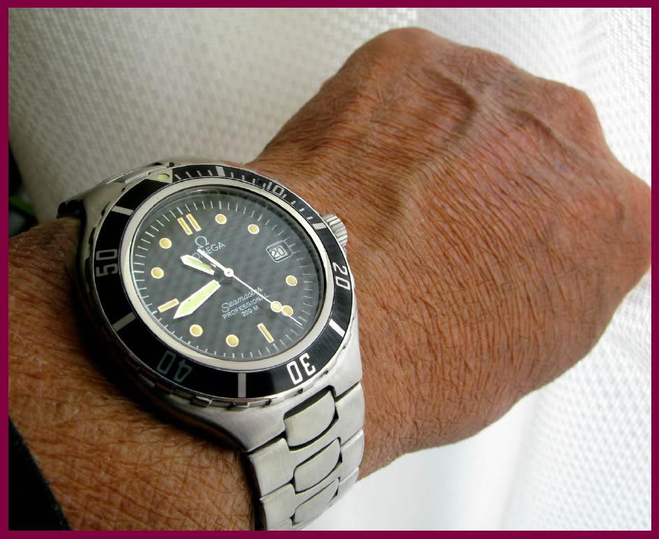 Omega vintage Seamaster quartz... Wristwhot2
