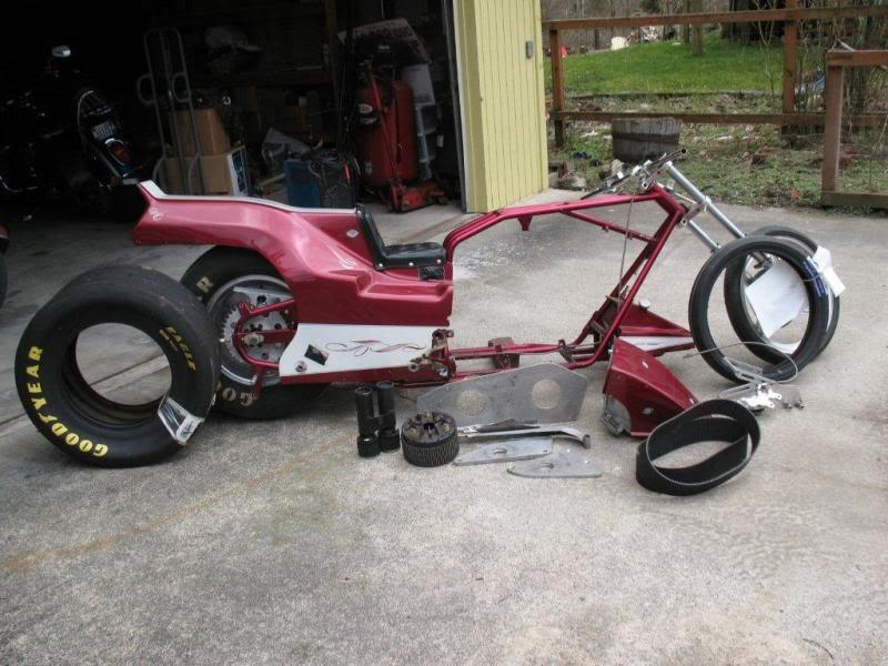 Spy Photo of Johnny Valente's new bike Sd1