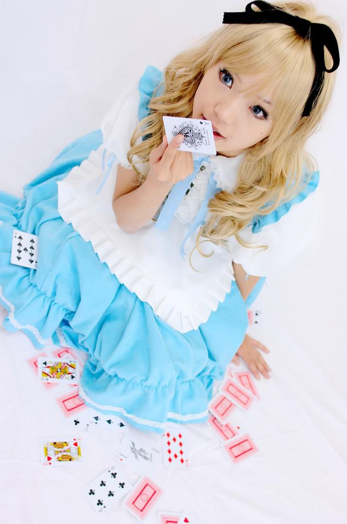 Cosplay Femme. Alice2