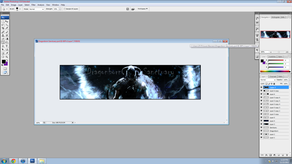 The New Banner (And How I Made It) WithinThePSD