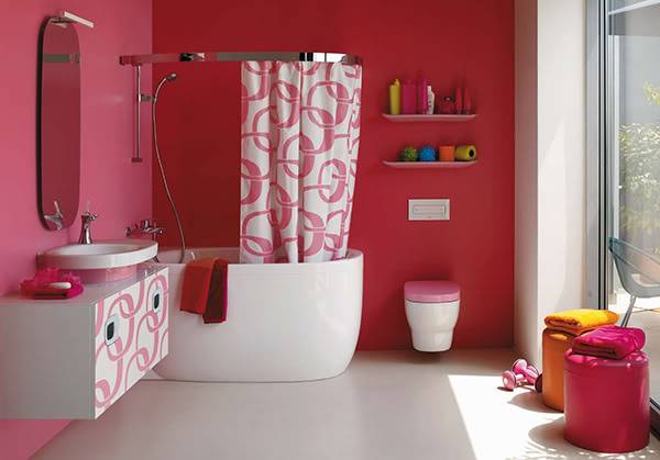 Alex Lustro's House Pink-bathroom-ideas-laufen-4