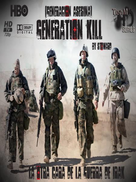 Generation Kill - Temporada Única [720p][x264][DUAL+SUBS] Portada