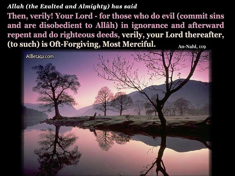 Αν Ναχλ Ιερο Κορανι 16: Στιχος 119 Asceticism-repentance-0006