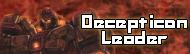 Decepticon Leader