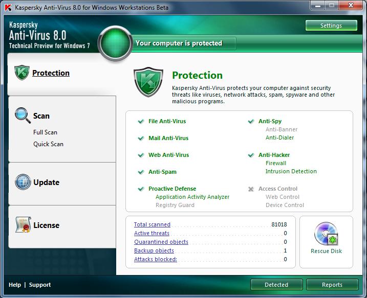 Thủ Thuật Hay cho window 7 Antivirus