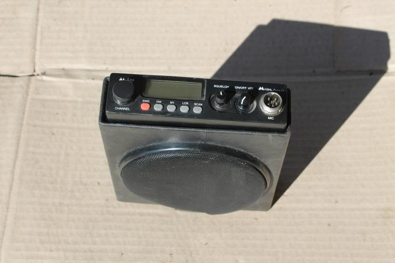 Rádio CB + Antena IMG_2221