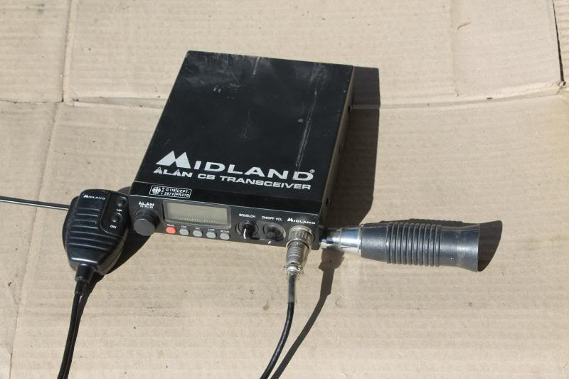 Rádio CB + Antena IMG_2223