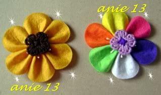 Flores para el pelo 2 Accesorios30
