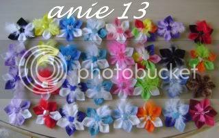 Flores en fieltro para el pelo Accesorios5