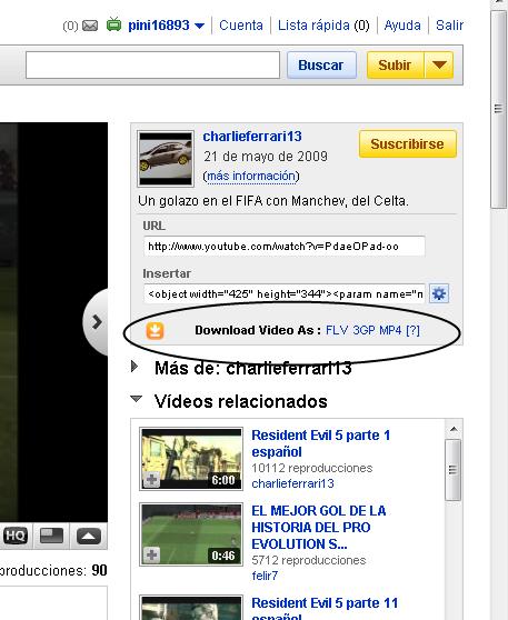 Como descargar los videos de YouTube Addonytdownloader