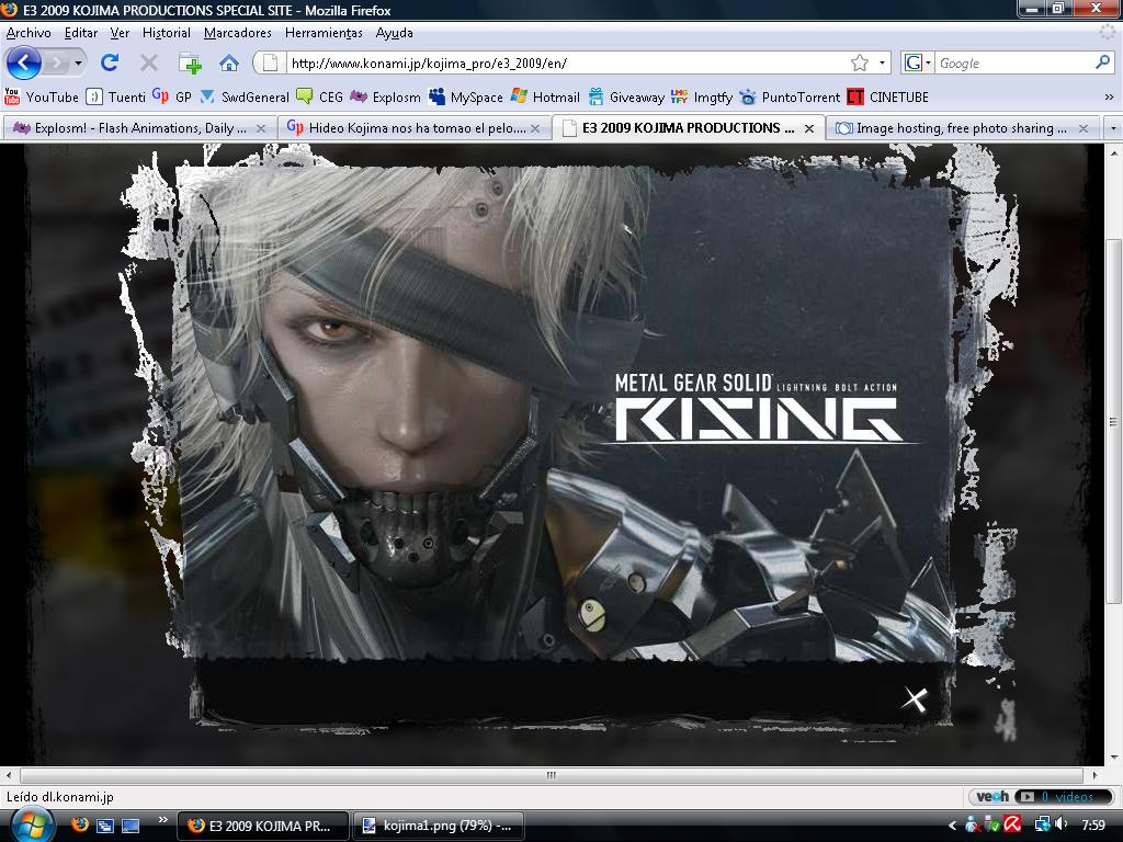 Hideo Kojima nos ha tomao el pelo. Nueva cuenta atrás activa Mgsrising