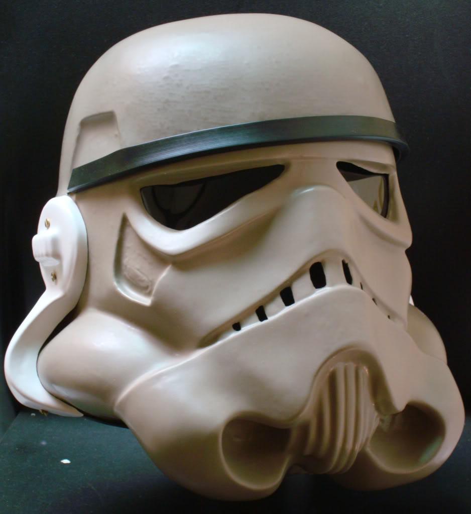 My RS Prop Masters dessert stormtrooper helmet #79 DSC02742