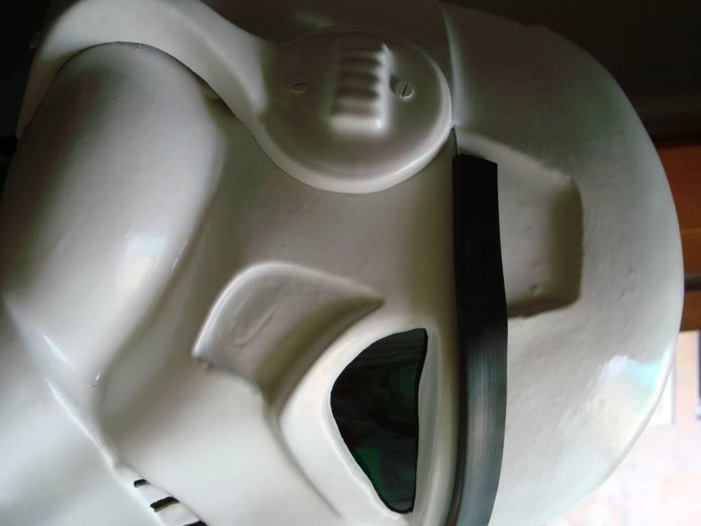 My RS Prop Masters dessert stormtrooper helmet #79 DSC02762