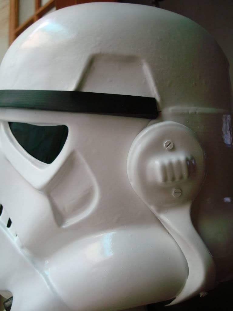 My RS Prop Masters dessert stormtrooper helmet #79 DSC02765