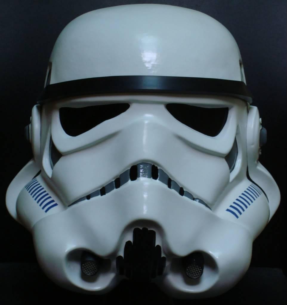 My RS Prop Masters dessert stormtrooper helmet #79 DSC02797