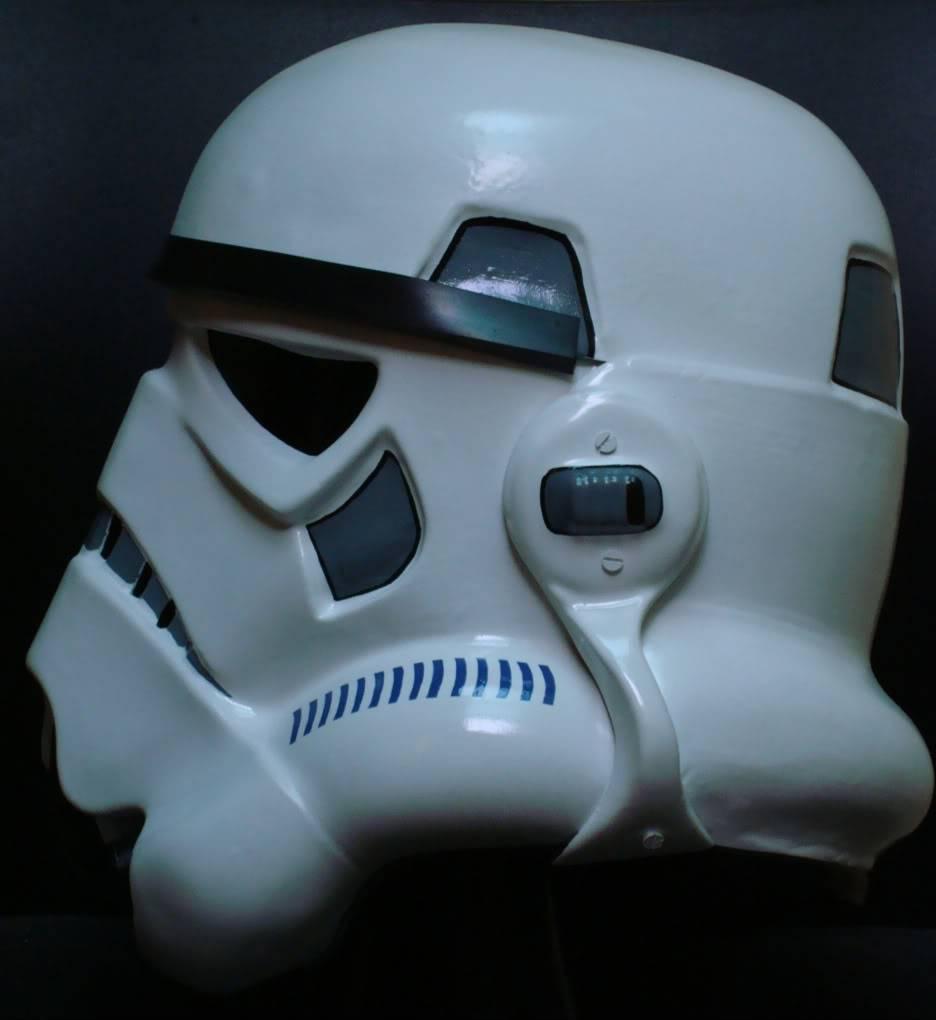 My RS Prop Masters dessert stormtrooper helmet #79 DSC02801