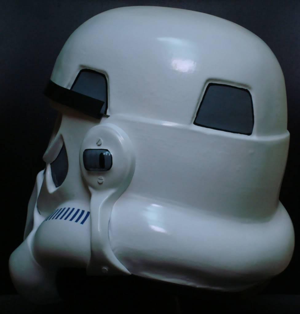 My RS Prop Masters dessert stormtrooper helmet #79 DSC02802
