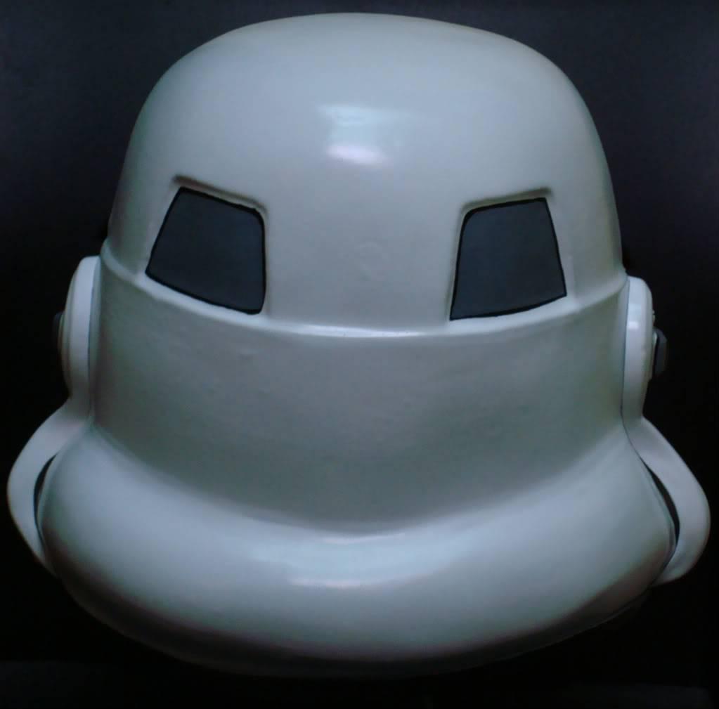 My RS Prop Masters dessert stormtrooper helmet #79 DSC02803