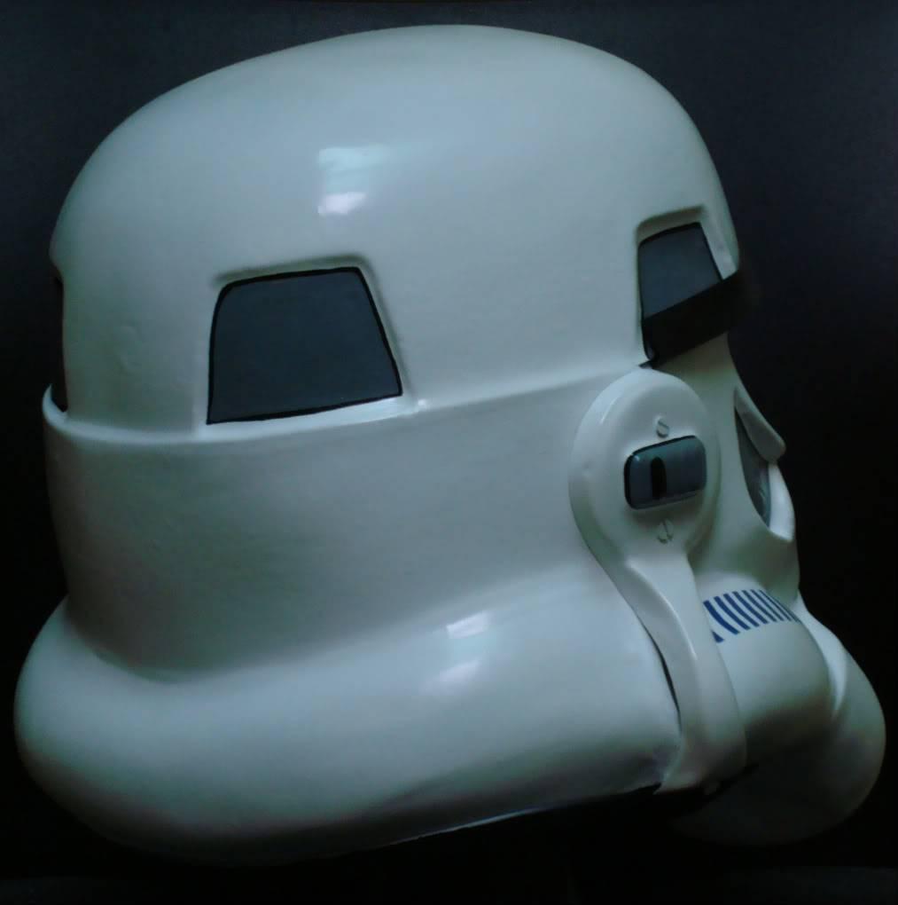 My RS Prop Masters dessert stormtrooper helmet #79 DSC02805