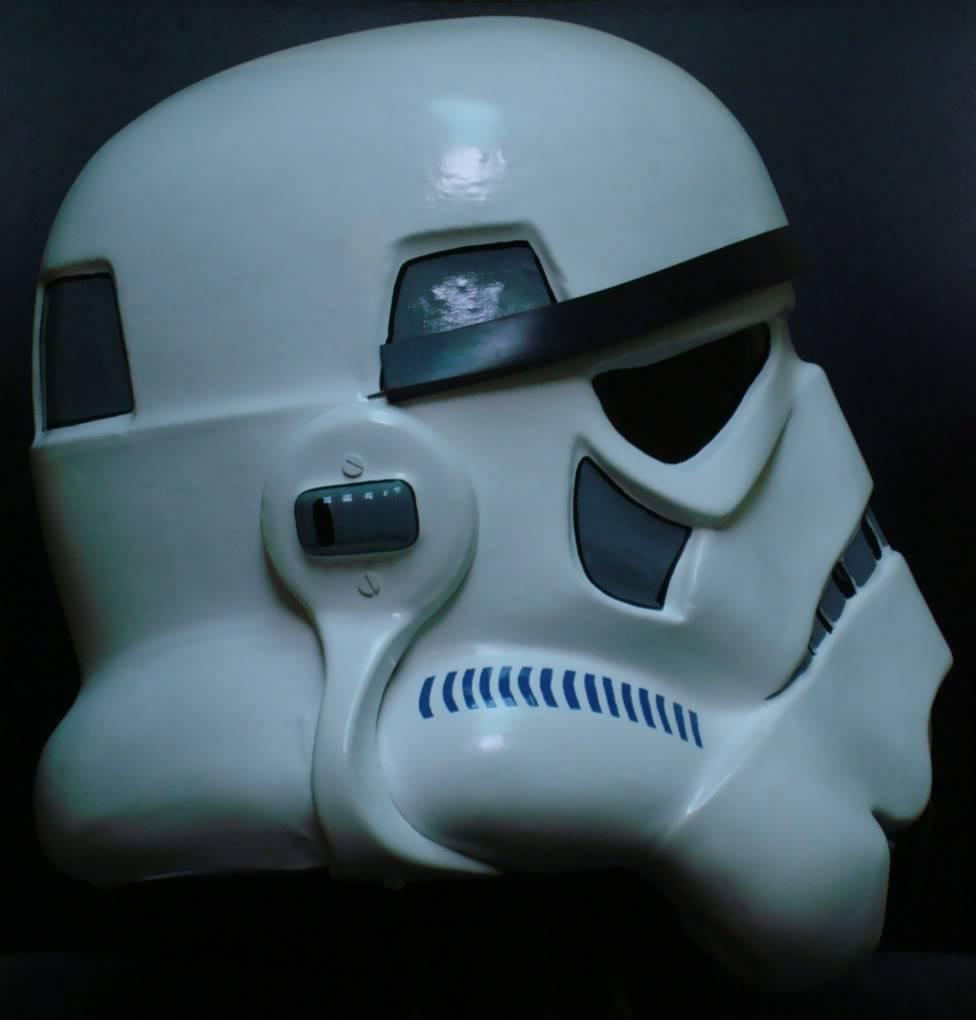 My RS Prop Masters dessert stormtrooper helmet #79 DSC02807