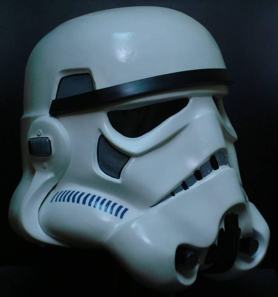 My RS Prop Masters dessert stormtrooper helmet #79 DSC02808