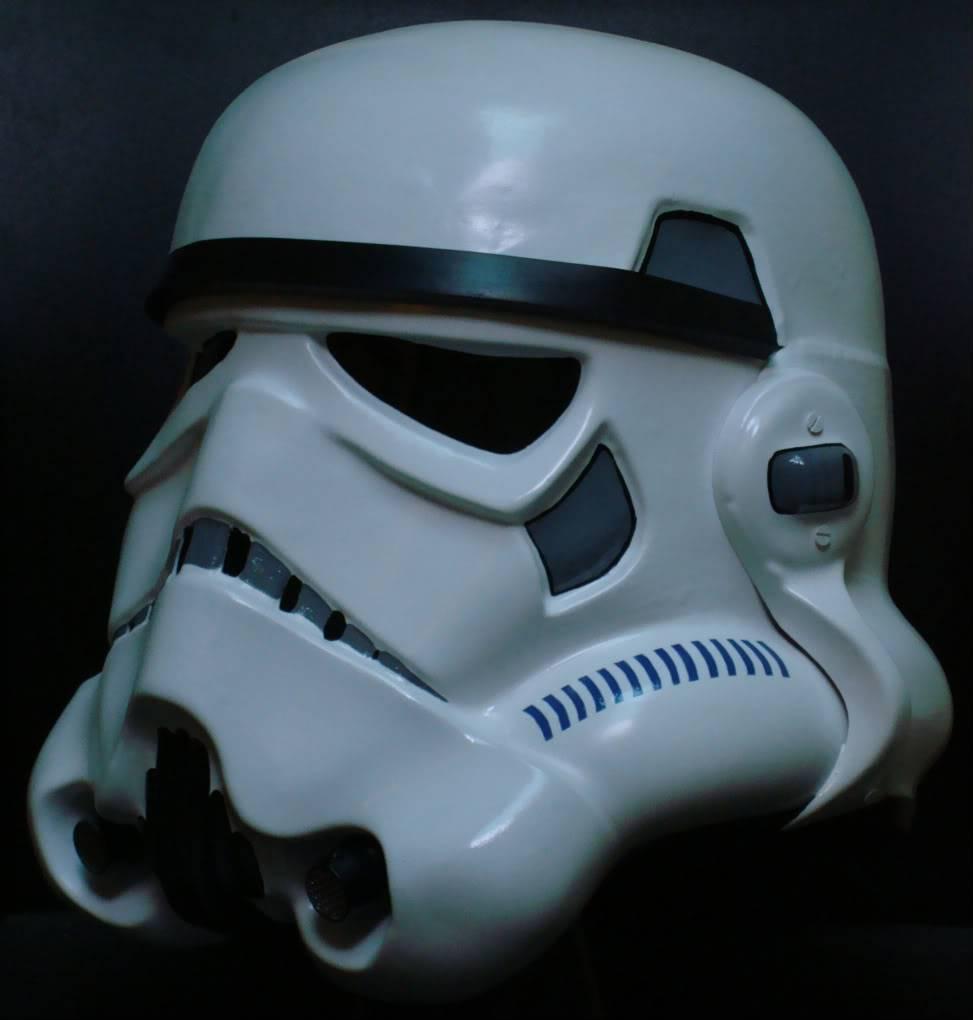 My RS Prop Masters dessert stormtrooper helmet #79 DSC02810