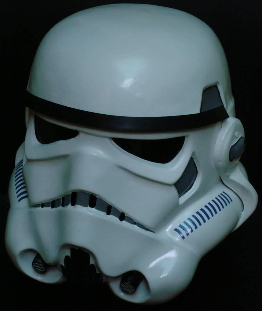 My RS Prop Masters dessert stormtrooper helmet #79 DSC02813