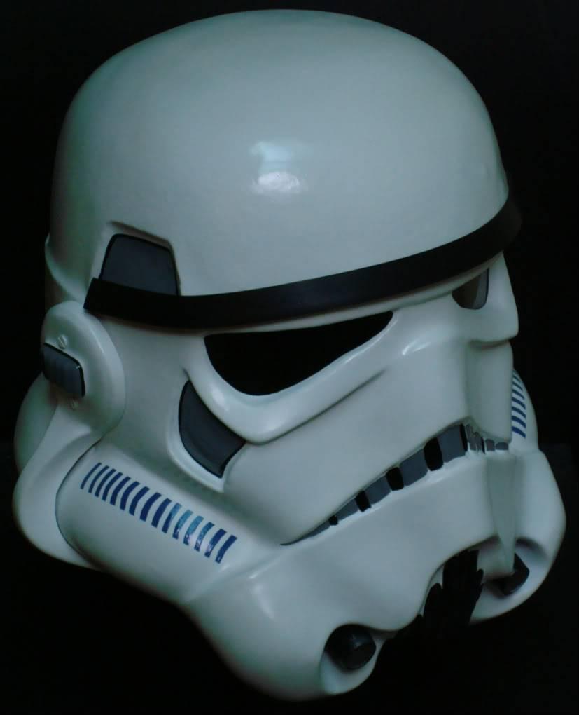 My RS Prop Masters dessert stormtrooper helmet #79 DSC02815