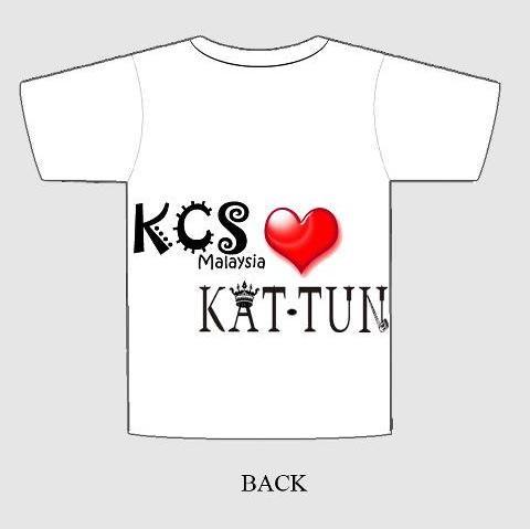 Vote For Your Fave KCS T-Shirt Back Design 1backdeekaydeekaydk