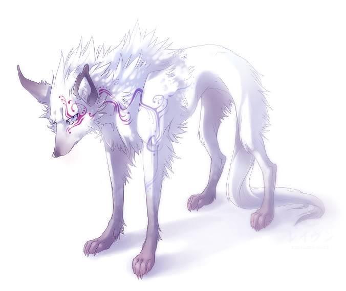 The Hidden Clearing Majesty_by_kaziczek_wolf