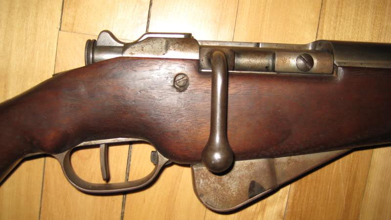 8mm Lebel Mannlicher Berthier enlevement du verrou St-EtienneMle1892MAS1914