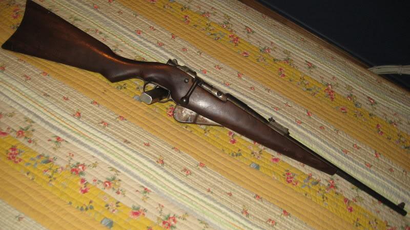 8mm Lebel Mannlicher Berthier enlevement du verrou St-EtienneMle1892MAS1914002