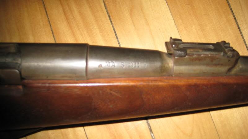 8mm Lebel Mannlicher Berthier enlevement du verrou St-EtienneMle1892MAS1914003