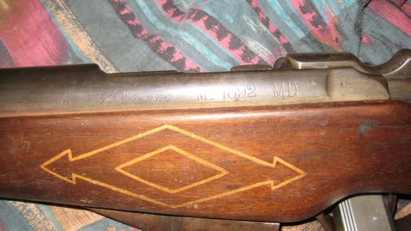 8mm Lebel Mannlicher Berthier enlevement du verrou St-EtienneMle1892MAS1914004