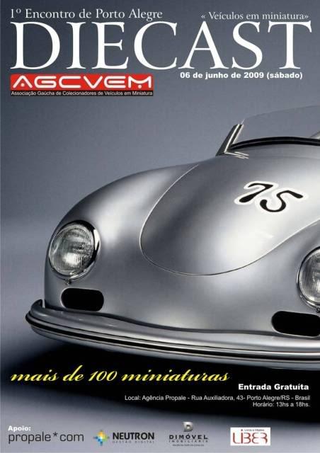 1a Exposição e fundação da Associação Gaúcha de Colecionadores de Veículos em Miniatura Cartaz