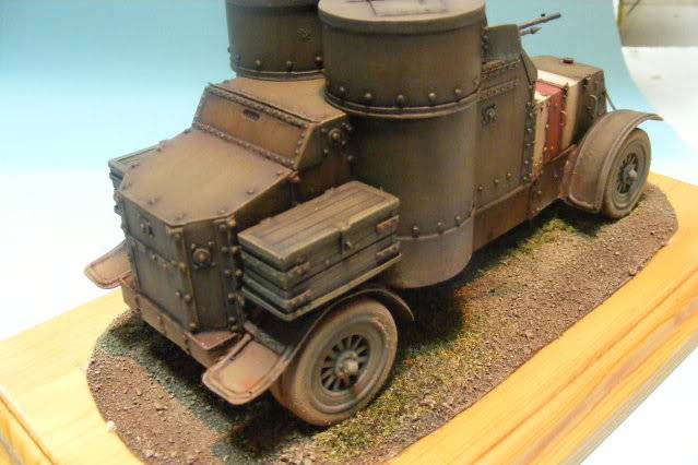 building the commander series austin ww1 armoured car photo sequence 2007_0208pugandaudi0009