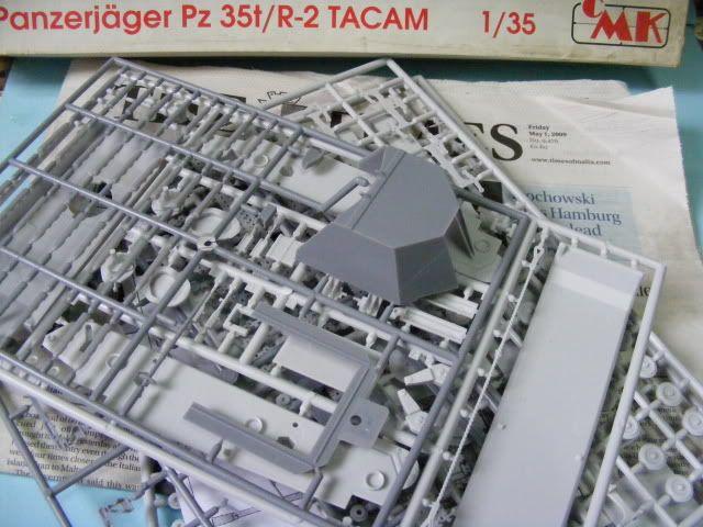 pz 35(t) r2 tacam 2 the build begins (update 6-29-09) DSCF1423